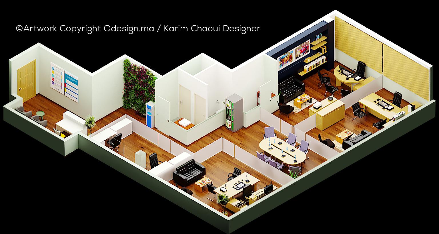Plan bureau 3D