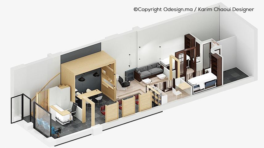 Plan 3D SPA